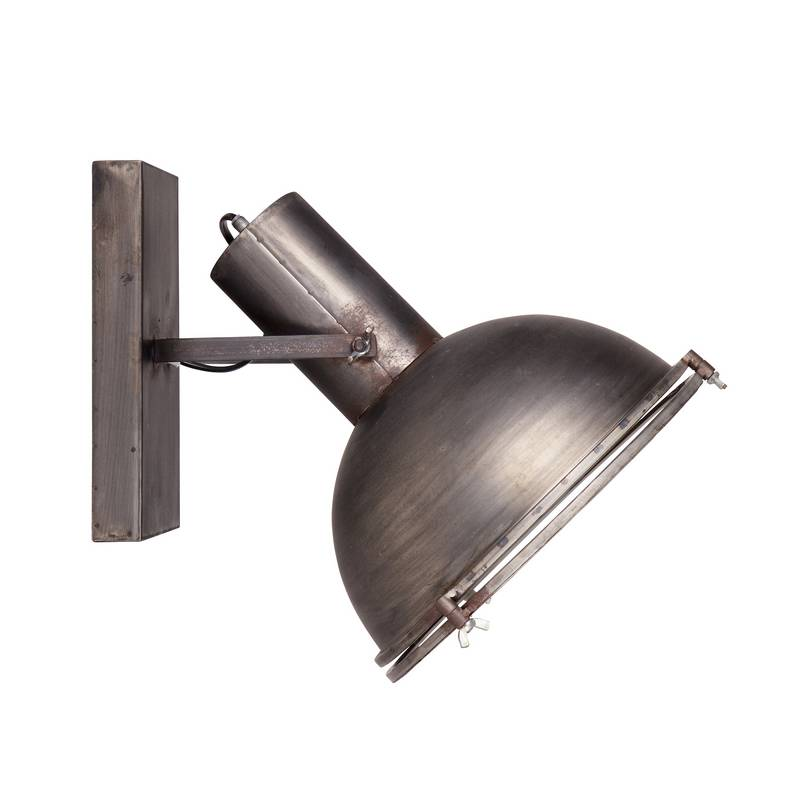 Be Pure Spotlight Metalen retro wandlamp