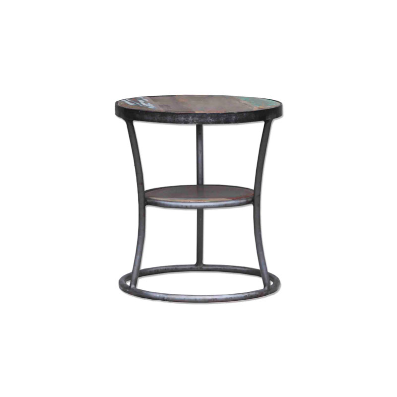 By-Boo End Table Shelf Metal