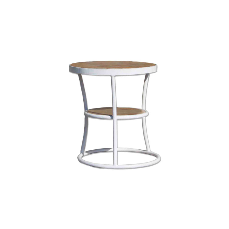 By-Boo End Table Shelf White