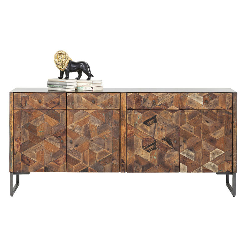 Kare Design Hunters Lodge Dressoir 4 Deurs En 4 Lades
