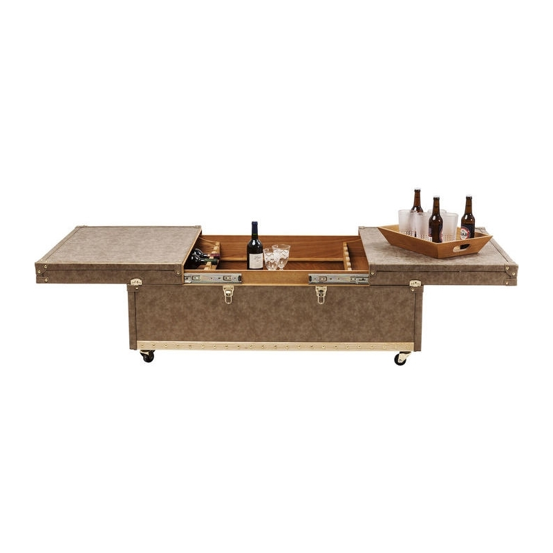 Kare Design Koffietafel Bar West Coast 120x75 Cm