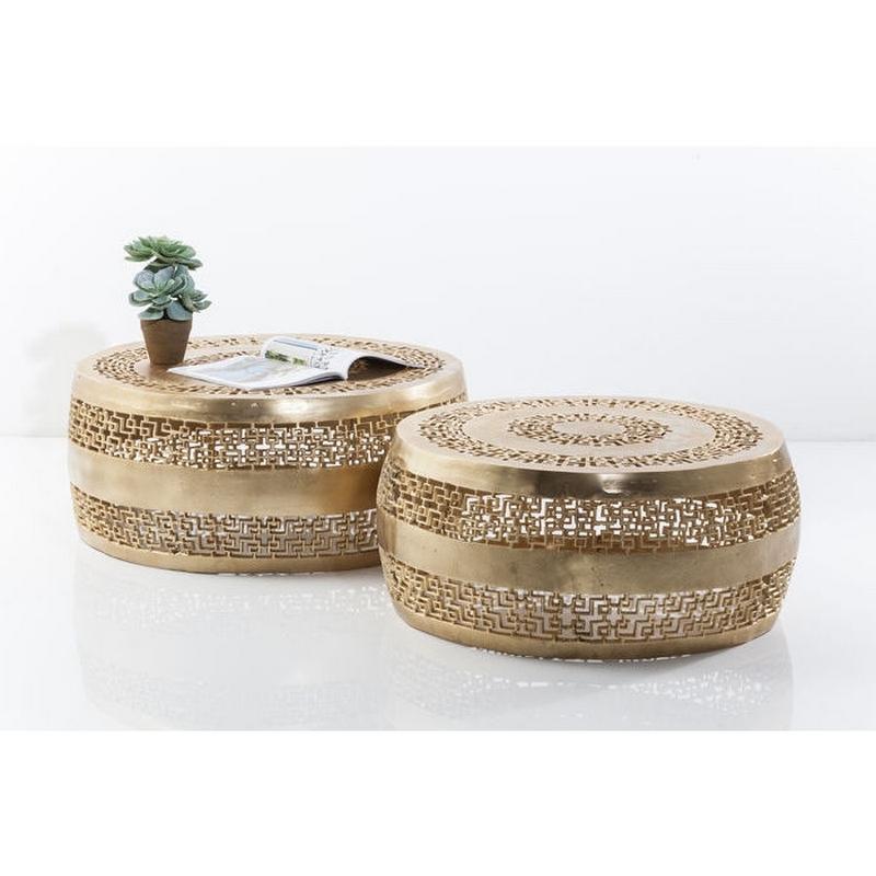 Kare Design Salontafel Cleopatra Ornament Set Van 2 Goud