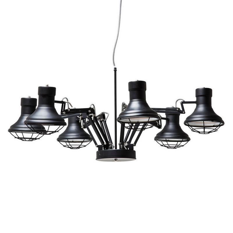 Kare Design Spider Pendant Hanglamp 6-lite
