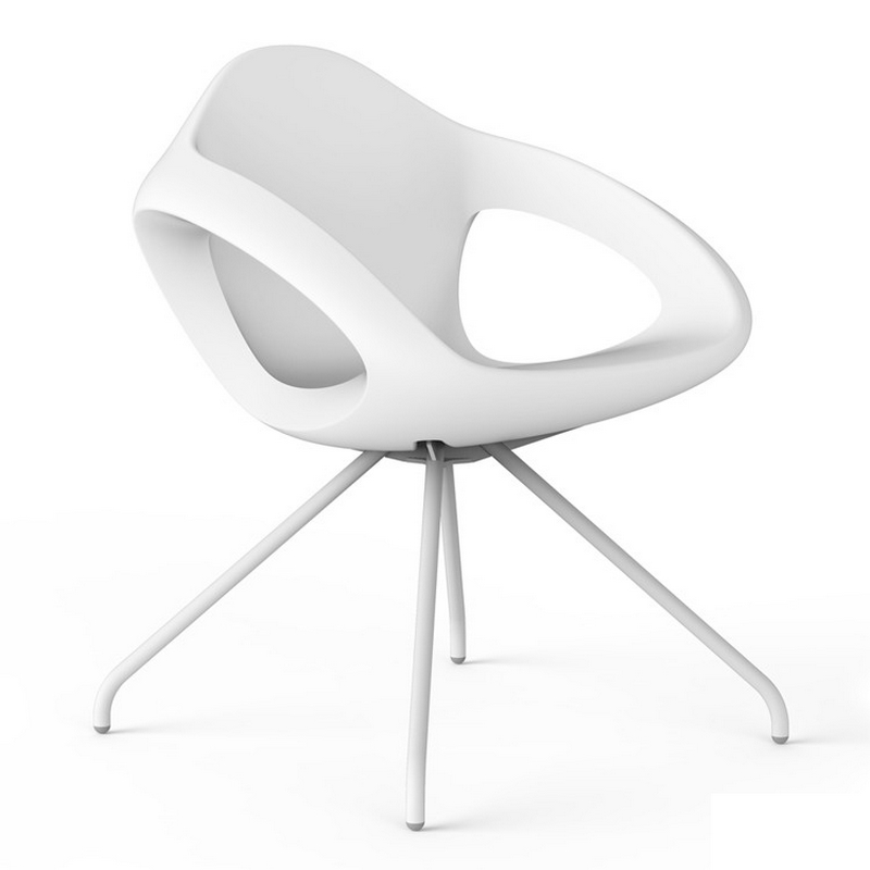 Lonc Easer Chair White