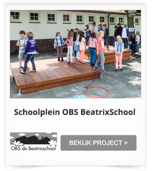 Inrichting Schoolplein OBS Beatrixschool