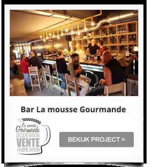 Project Biercafé Frankrijk La Mousse Gourmande