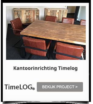 Kantoorinrichting op maat Timelog