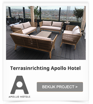 Totaalinrichting Apollo Hotel Amsterdam