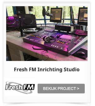 Studio Inrichting Fresh FM