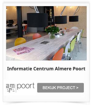 Projectinrichting Gebiedskantoor Informatie Centrum Almere Poort