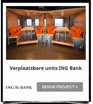 Projectinrichting ING Bank Sloterdijk