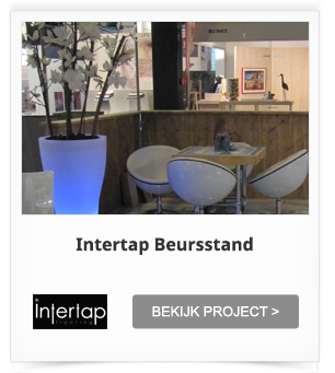 Projectinrichting Intertap Beursstand