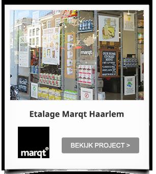 projectinrichting Etalage Marqt Haarlem