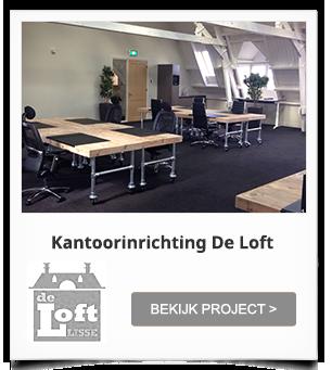 Project Kantoorinrichting De Loft Lisse