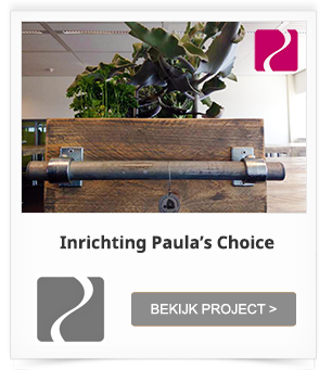 Projectinrichting/Kantoorinrichting Paula's Choice
