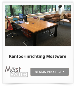 Project Kantoorinrichting Mostware