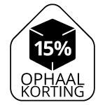 15% OPHAALKORTING