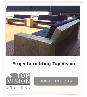 Project Dakterras inrichting Top Vision Group