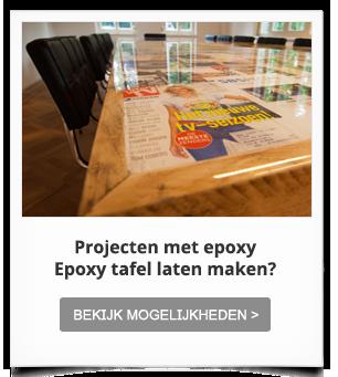 Projectinrichting met epoxy