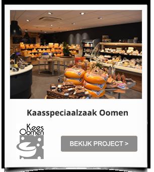 Winkelinrichting Kaasspeciaalzaak Oomen