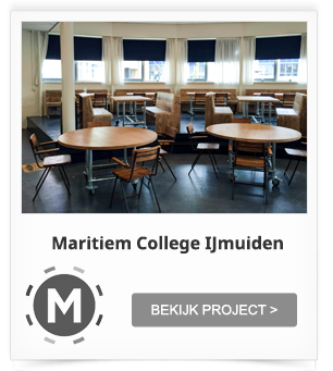 Projectinrichting Kantine Maritiem College IJmuiden