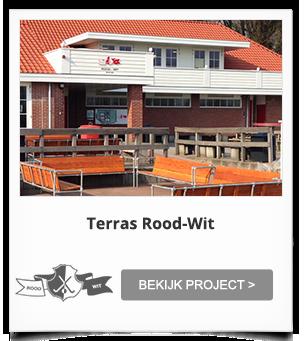 Totaalinrichting Terrras Rood-Wit Aerdenhout
