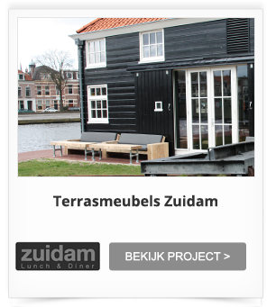 Projectinrichting Terrras Zuidam