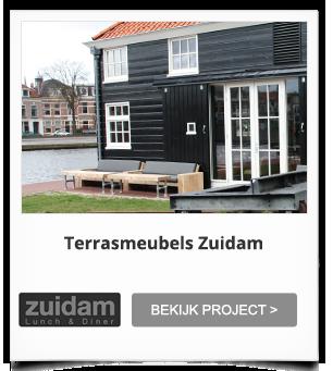 Projectinrichting Terrras Zuidam